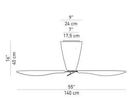 Luceplan Blow Grafik