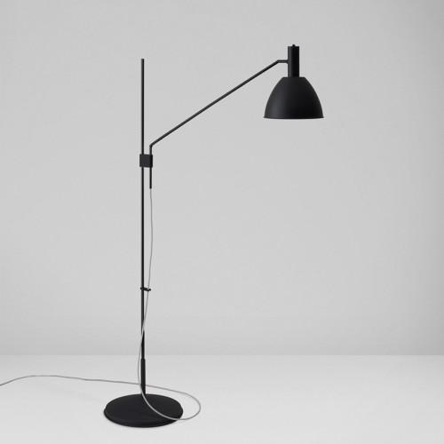 Lumini Bauhaus 90 F LED ganz schwarz
