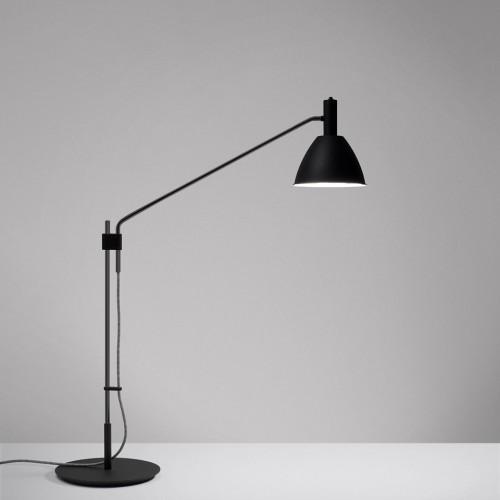 Lumini Mini Bauhaus 90 T LED Base ganz schwarz