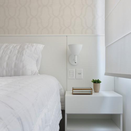 Lumini Mini Bauhaus 90 W1 LED ganz weiß