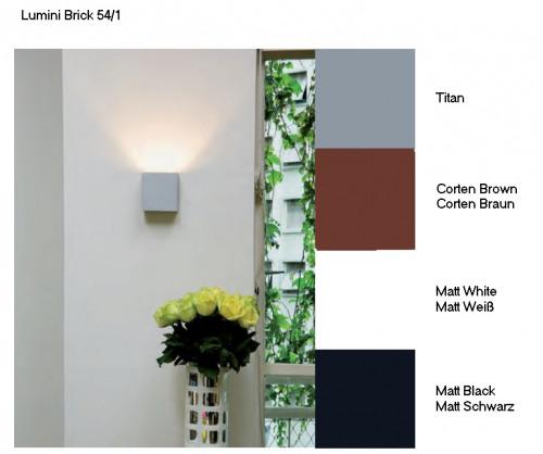 Lumini Brick 54/1 Oberflächen