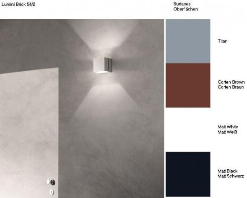 Lumini Brick 54/2 Farbtafel