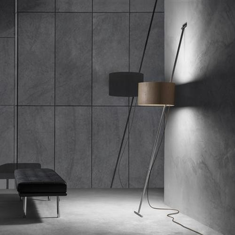 Lumini Lift Schirm Holz, Kabel braun