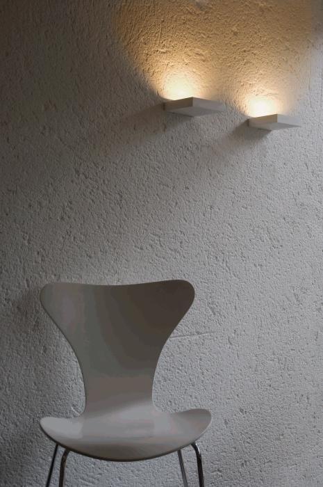 Lumini Mini Plate LED titan und weiß