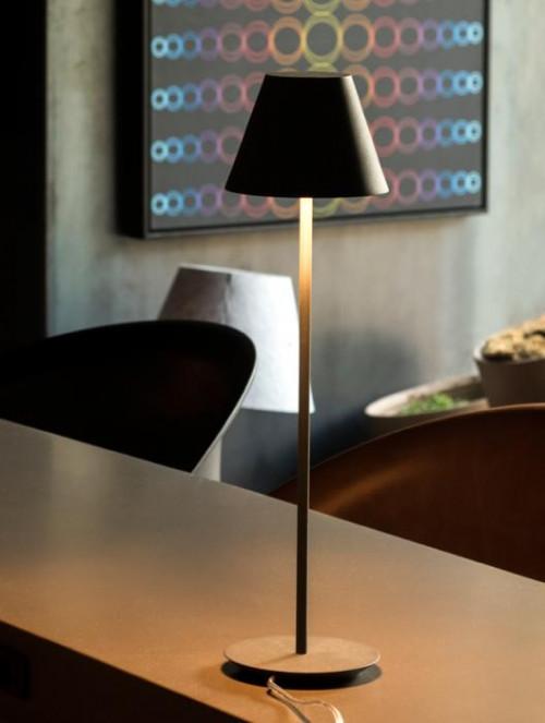 Lumini Piccolo R LED matt schwarz