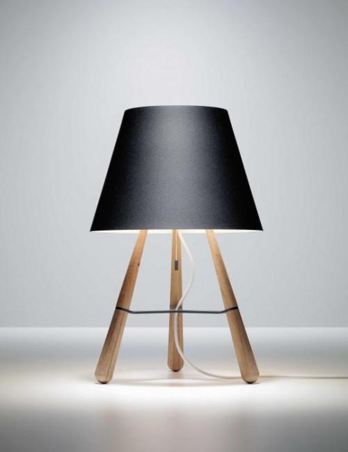 Lumini Vinte2 matt schwarz