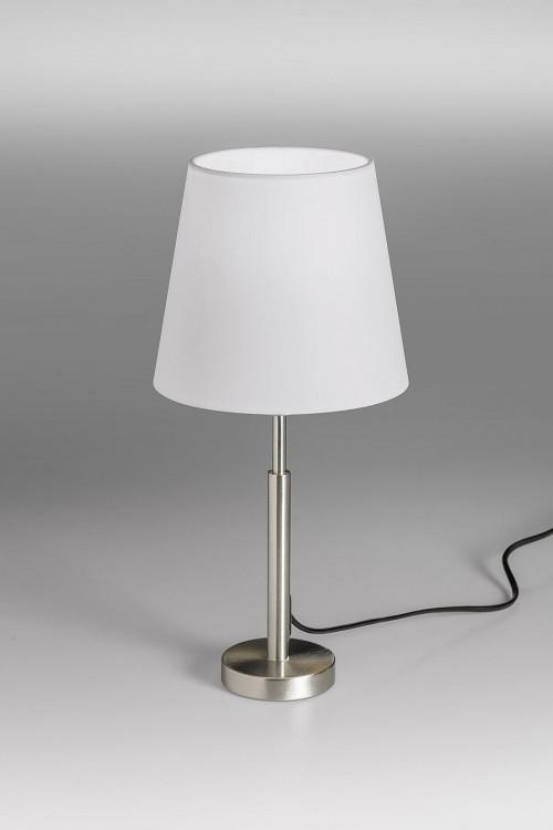 Lupia Licht Garde S Leuchtenstab Nickel Leuchtenschirm weiß