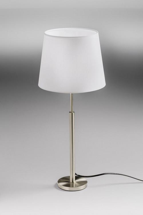 Lupia Licht Garde T Leuchtenstab Nickel Leuchtenschirm weiß