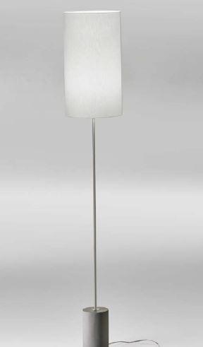 Lupia Licht Concrete S - Leuchtenstab nickel Leuchtenschirm weiß