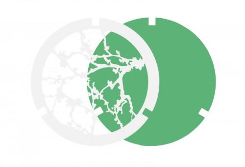 Ma[&]De Gobo Filter zur 2Nights Version 2 Baum, weiß