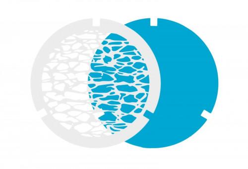 Ma[&]De Gobo Filter zur 2Nights Version 3 Wasser, weiß