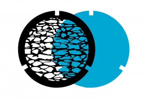 Ma[&]De Gobo Filter zur 2Nights Version 3 Wasser, schwarz