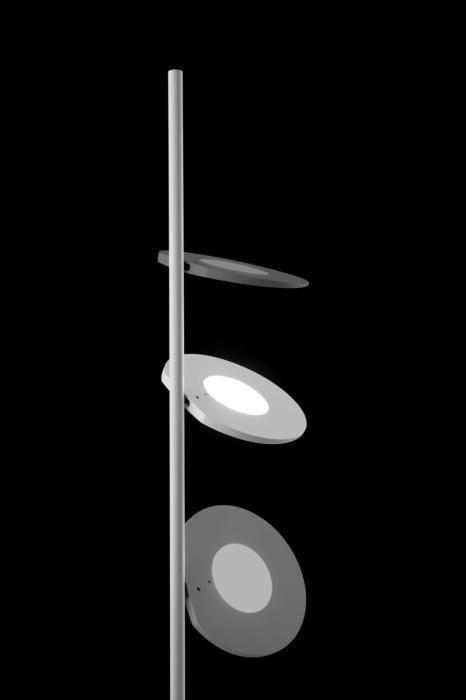 Ma[&]De Kimia Leuchtenkopf gedreht und bewegt