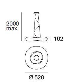 Ma[&]De MrMagoo P LED Version 1, 52 cm, Grafik
