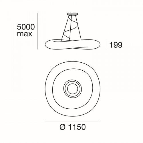 Ma[&]De MrMagoo P LED Version 3, 115 cm, Grafik