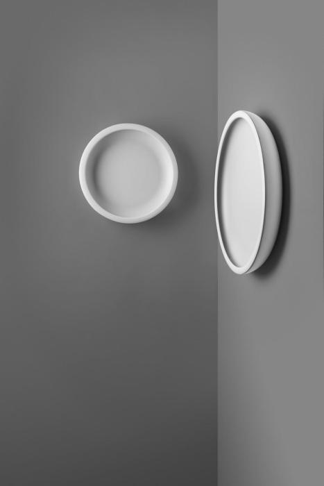 Ma[&]De Reflexio 66cm weiß ausgeschaltet (rechts)