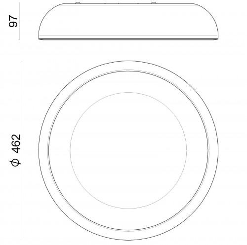 Ma[&]De Reflexio 47cm Grafik