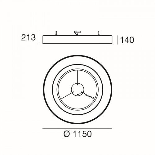 Ma[&]De Saturn S, Version 2, 115 cm Grafik