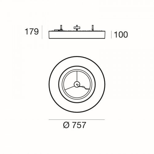 Ma[&]De Saturn S, Version 1, 76 cm Grafik