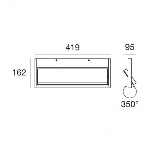 Ma[&]De Tablet W1, 42 cm, Ausführung 3 Grafik