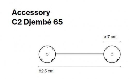 Marset Zubehör C2 Djembe 65 (ohne Leuchten)