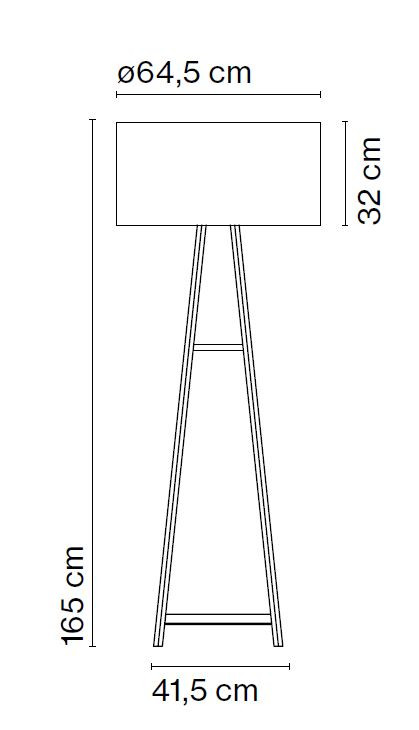 Marset Cala P165 Grafik