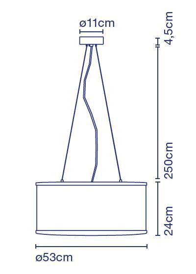 Marset Cala Susp IP65 Grafik