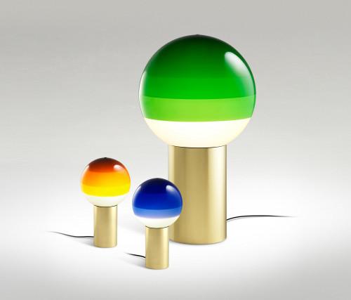 Marset Dipping Light M grün (auf der rechten Seite)