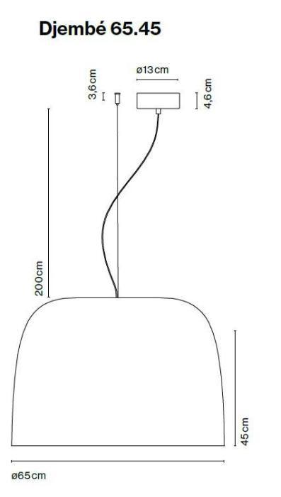 Marset Djembe 65, Version 3 Grafik