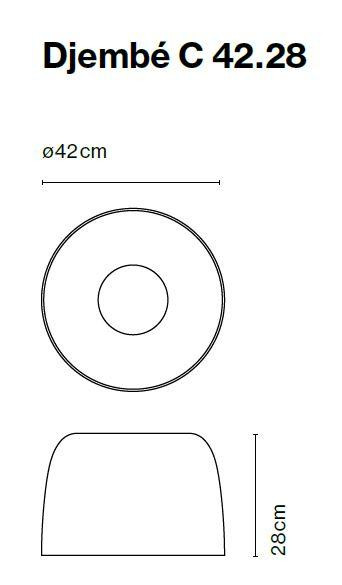 Marset Djembe C 42, Version 3 Grafik