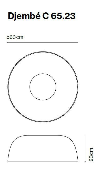 Marset Djembe C 65, Version 1 Grafik