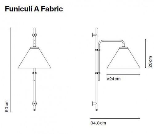 Marset Funiculi A Fabric Grafik