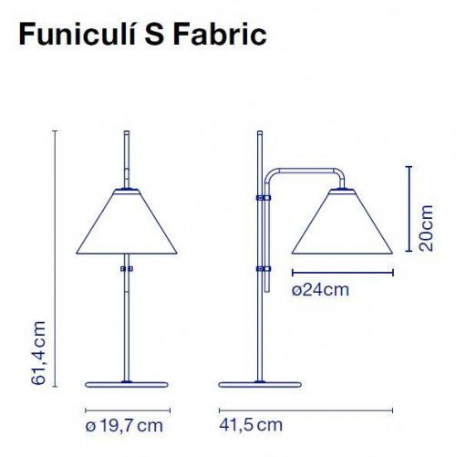Marset Funiculi S Fabric Grafik