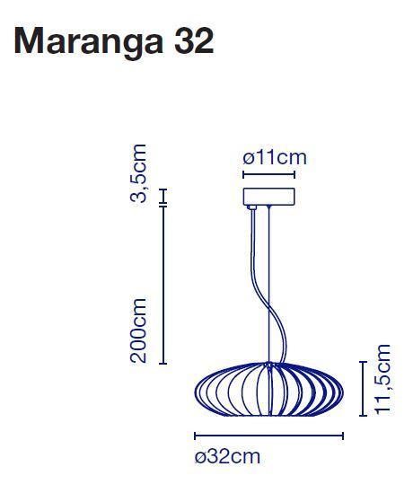 Marset Maranga 32 Grafik