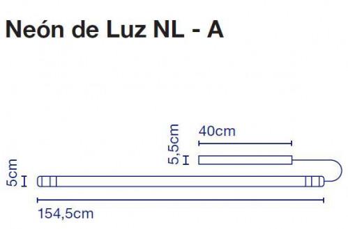 Marset Neon de Luz NL-A 125 cm Grafik