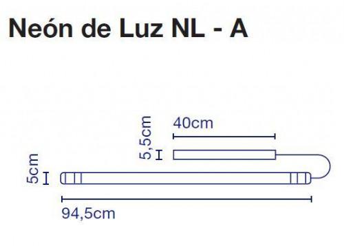 Marset Neon de Luz NL-A 95 cm Grafik
