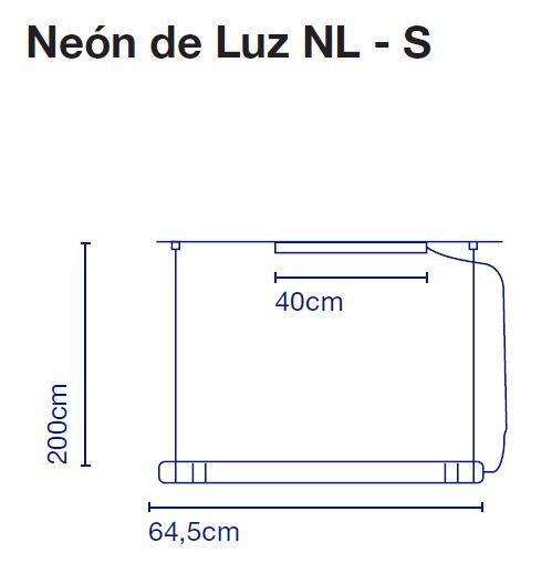 Marset Neon de Luz NL-S 65 cm Grafik