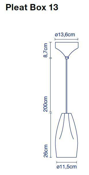 Marset Pleat Box 13 LED Grafik