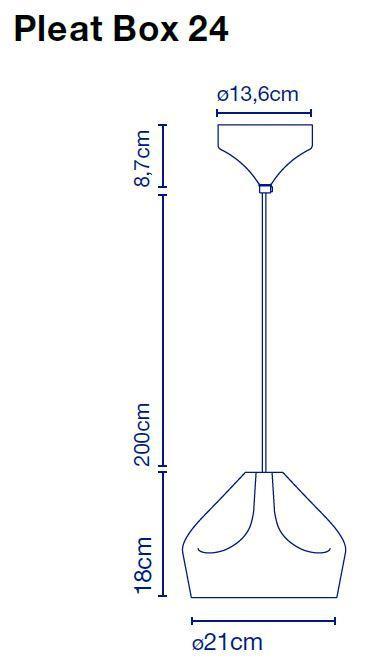 Marset Pleat Box 24 Grafik