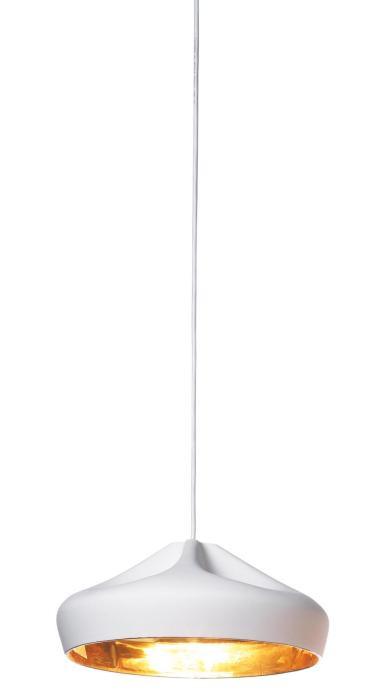 Marset Pleat Box 36 Version 6, weiß-gold