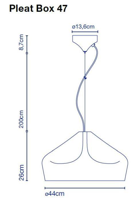 Marset Pleat Box 47 LED Grafik