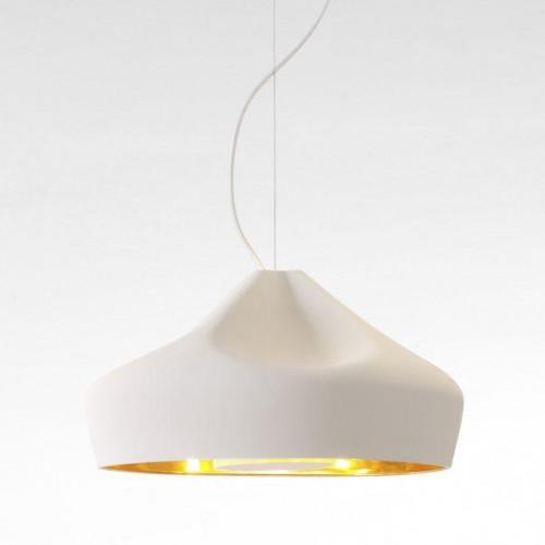 Marset Pleat Box 47 LED Version 6, weiß-gold