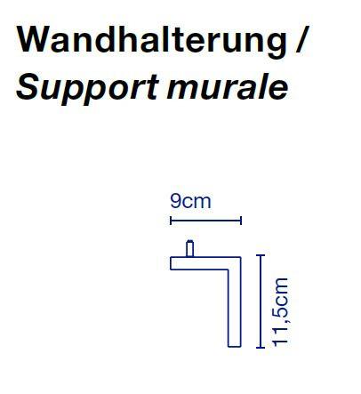 Marset Polo Wall Wandhalterung Grafik