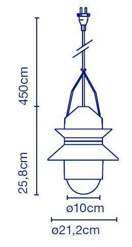 Marset Santorini Floor Leuchtenkopf Grafik