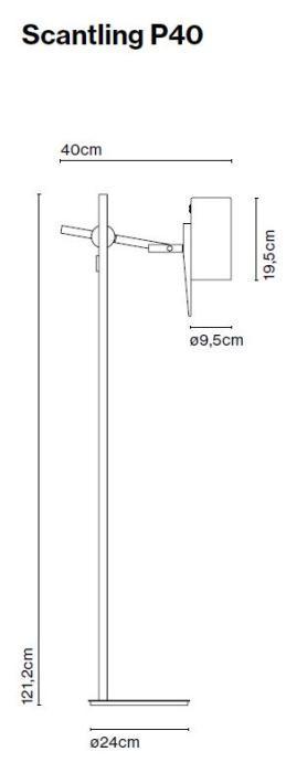 Marset Scantling P40 Grafik
