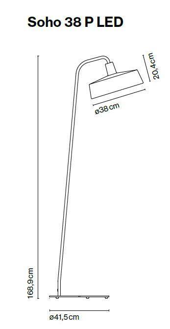 Marset Soho 38 P LED Grafik