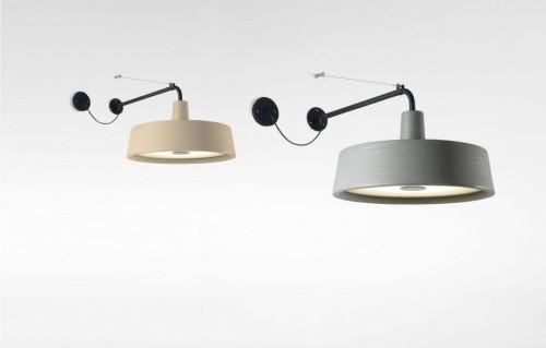 Marset Soho A LED grau (auf der rechten Seite)