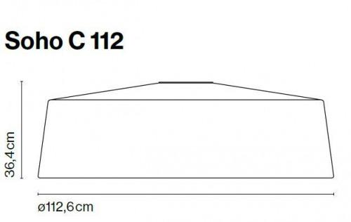 Marset Soho C 112 LED Grafik