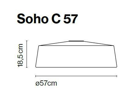 Marset Soho C 57 LED Grafik