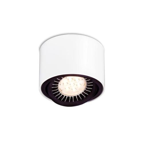Mawa 111er rund LED, schaltbar weiß